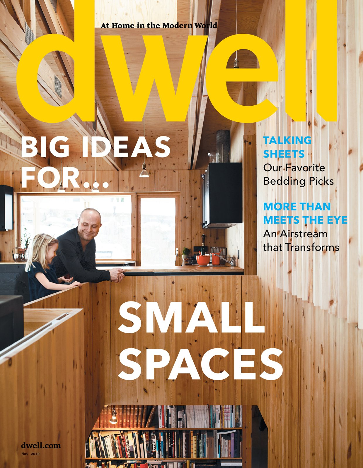 """Check out this issue of sweet small spots, including our cover story on arhitect Per Bornstein's diminutive home in Sweden. Photo by: Pia Ulin  Search """"milan 2010 in color"""" from Issues Dedicated to Small Spaces"""
