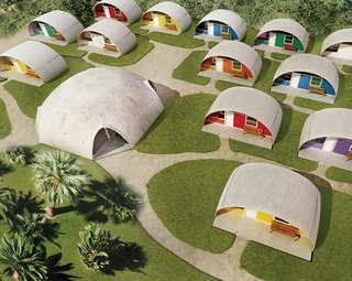 Low-Cost, Balloon-Formed Housing Concept for Developing Countries
