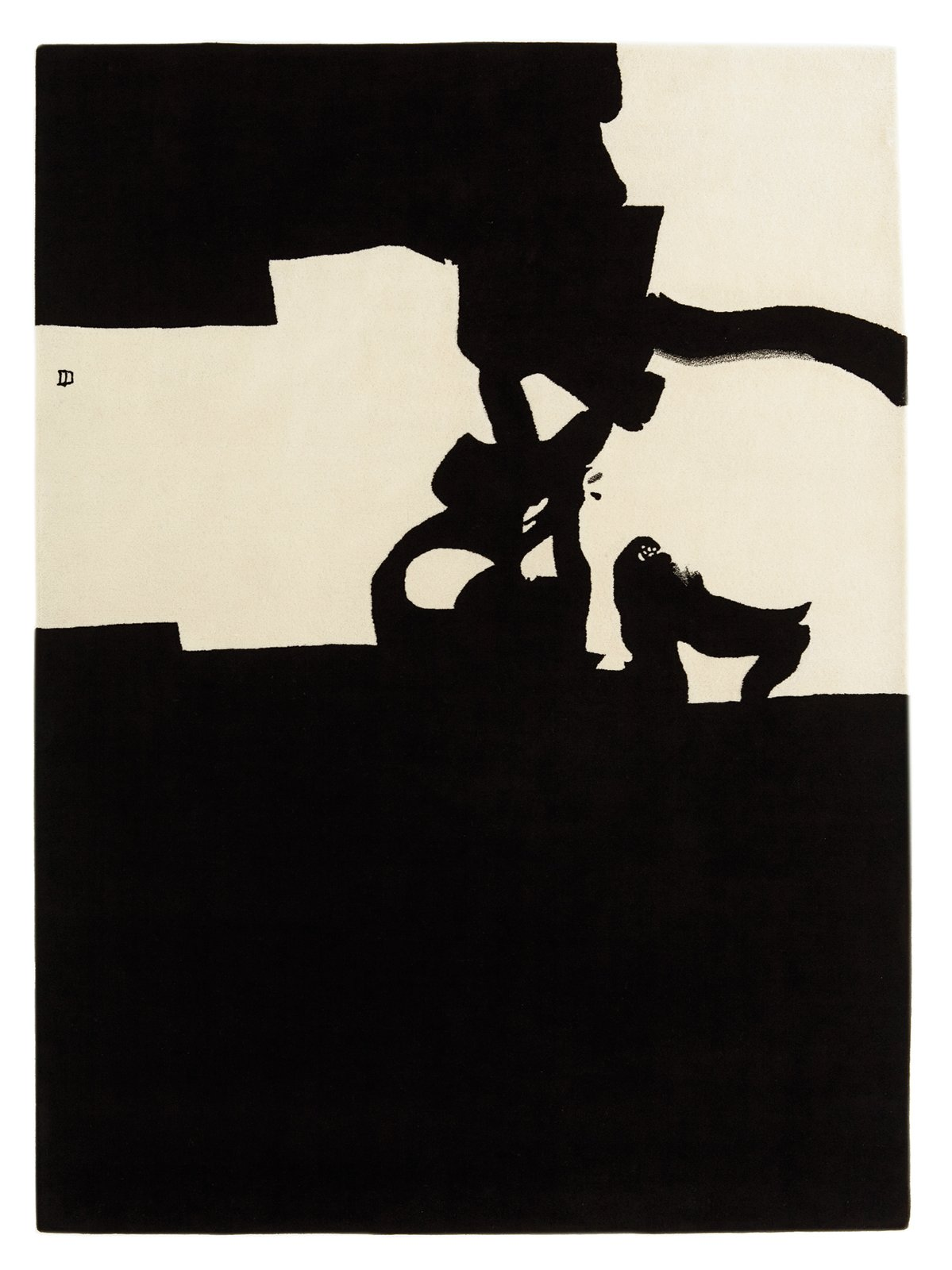 Collage 1966, 2012, based on artwork by Eduardo Chillida.  Photo 9 of 9 in This Designer Escapes to Ibiza for Some Peace and Quiet