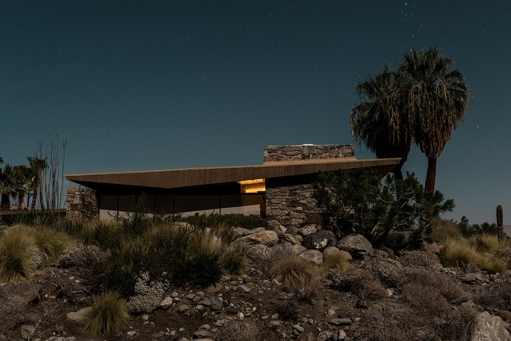 "1030 West Cielo Drive, Palm Springs  Search ""borrego springs mod houses"" from Midcentury Modern Homes of Palm Springs Under Moonlight"