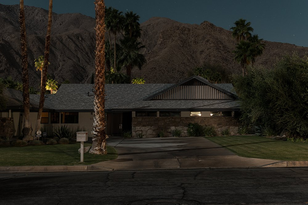 """1175 N Monte Vista, Palm Springs  Search """"borrego springs mod houses"""" from Midcentury Modern Homes of Palm Springs Under Moonlight"""