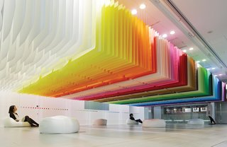 French Architect Brings Brilliant Color to Tokyo