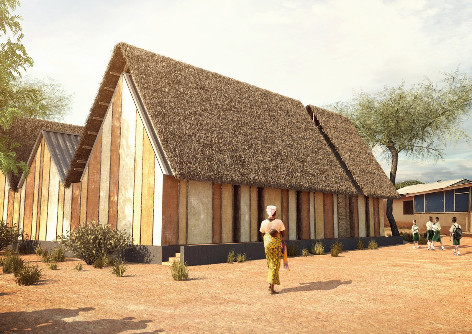 Modern mud homes a new take on building in ghana collection of 6 photos by patrick sisson dwell
