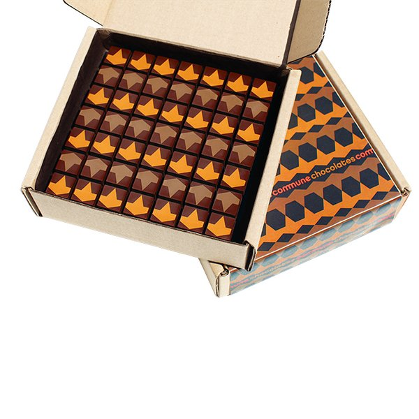 He also recommends these Commune Chocolates by Valerie Confections, $49.