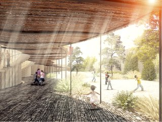 Sustainable Modern School Planned for Rural Mexico