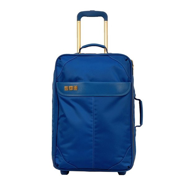 Inspired by the glamorous luggage that accompanied travelers in the 1960s, Flight 001's Avoinette Carry-On Suitcase is a thoughtful gift for someone who travels for work or enjoys getting away on the weekends. The suitcase includes front and rear zippered pockets, top and side handles, a trolley handle, an additional bag strap, and silent moving wheels.