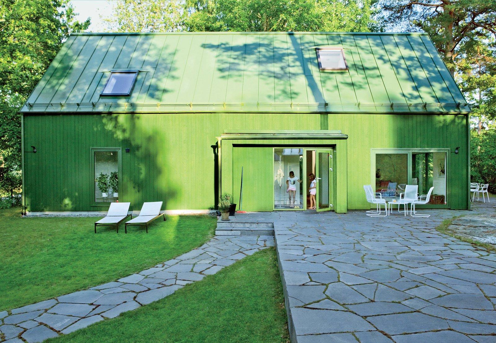 Fatima Olivero-Reinius gable house exterior