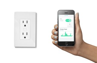 The Outlink smart wall outlet and energy monitor demystifies energy bills by allowing users to see exactly what appliances and electronics are using how much energy. Michael Taylor invented this product.