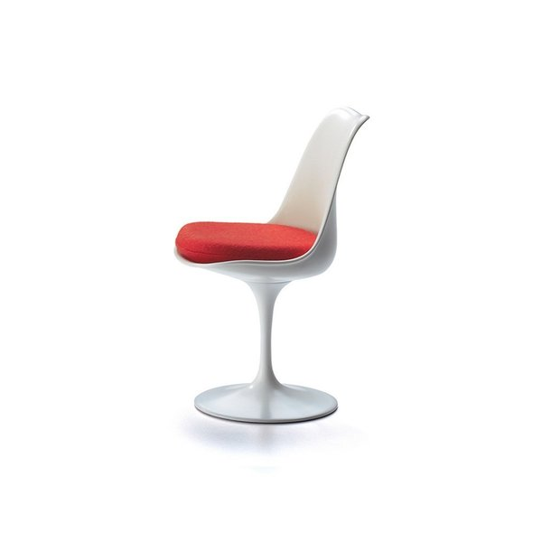 The Vitra Miniature Collection presents important modern furniture classics in a smaller size. This Tulip Chair is an exact 1:6 replica of Eero Saarinen's original design, including the materials, construction, and colors. This miniature is a great way to give the gift of midcentury modern without breaking the bank.