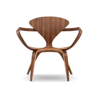Designed by Benjamin Cherner, the Cherner Lounge Arm Chair is defined by its welcoming, curved shape that recalls the original 1958 Cherner chair design by Benjamin's father, Norman. The molded plywood shell, solid bentwood arm, and laminated wood base flow fluidly into one another, giving the chair an organic sensibility. This chair is a once-in-a-lifetime gift for your favorite fan of midcentury design.