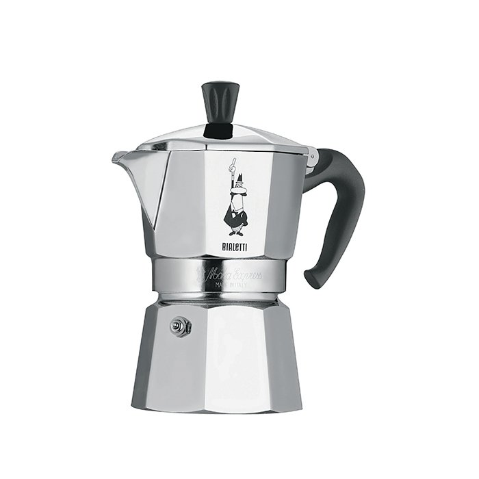 What is your go-to kitchen appliance?  My Italian moka pot to make coffee and my milk frother for when I make cappuccino.  Moka Express from Bialetti, from $25  Photo 3 of 5 in Ask the Expert: Gift-Buying Tips from Ambra Medda