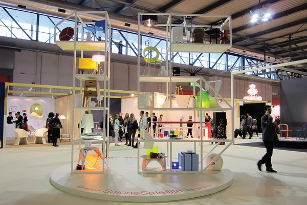 A look at the SaloneSatellite exhibition.