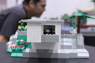 One of the finalists from our LEGO contest.