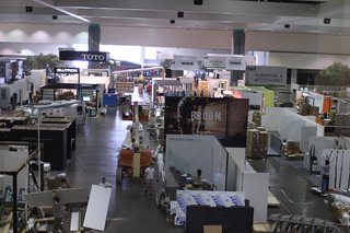 The show floor as it looked Thursday, June 21, at about 3:00 p.m.