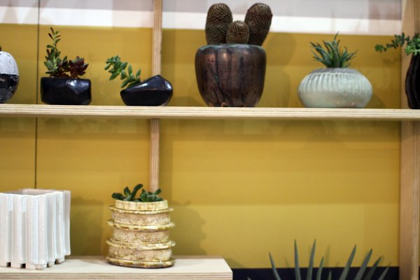 The Dwell on Design 2012 booth of BKB Ceramics.