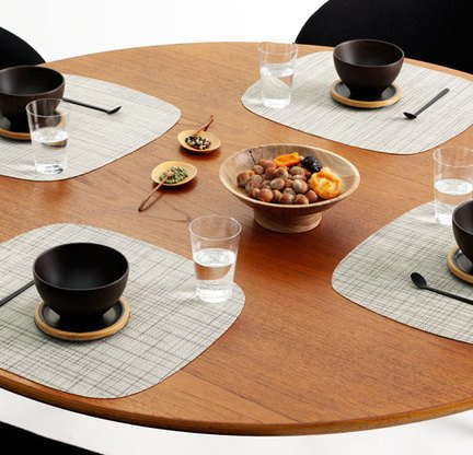 Lounge placemats ($15) chilewich.com.