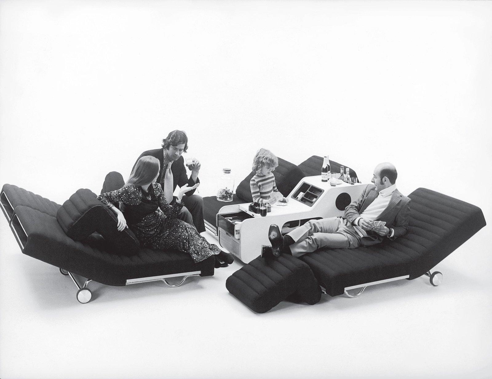 "Photo by Ignazia Favata / StudioJoe Colombo, Milano  Search ""joe colombo 4801 armchair"" from A Movable Fete"