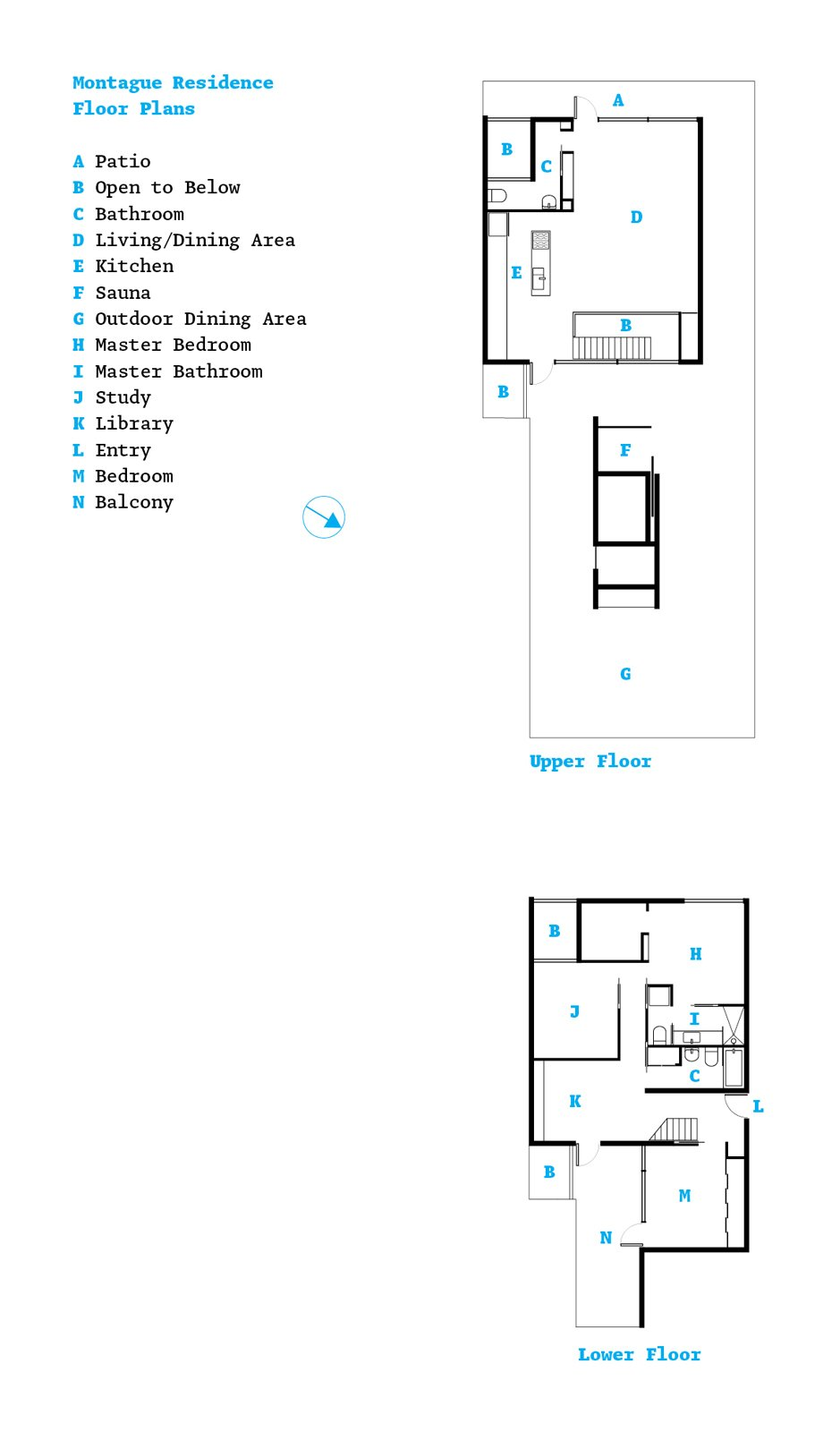 The floor plan.  Photo 15 of 15 in Party-Friendly Apartment in Toronto