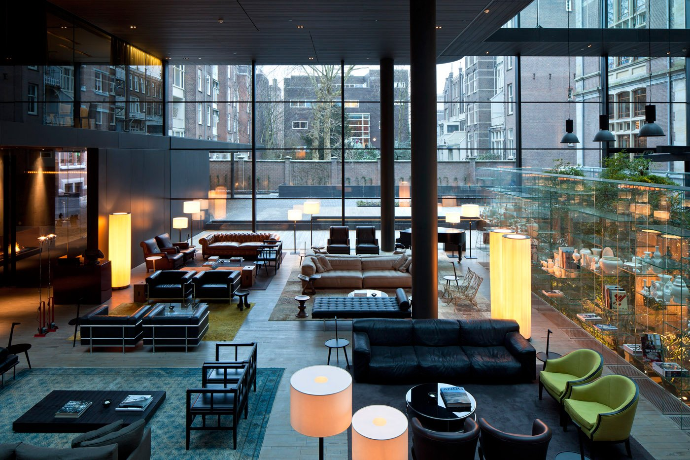 The Conservatorium is outfitted with furniture by Cassina, Kartell, and Living Divani.  Iain Aitch's Favorites from The Conservatorium, Amsterdam