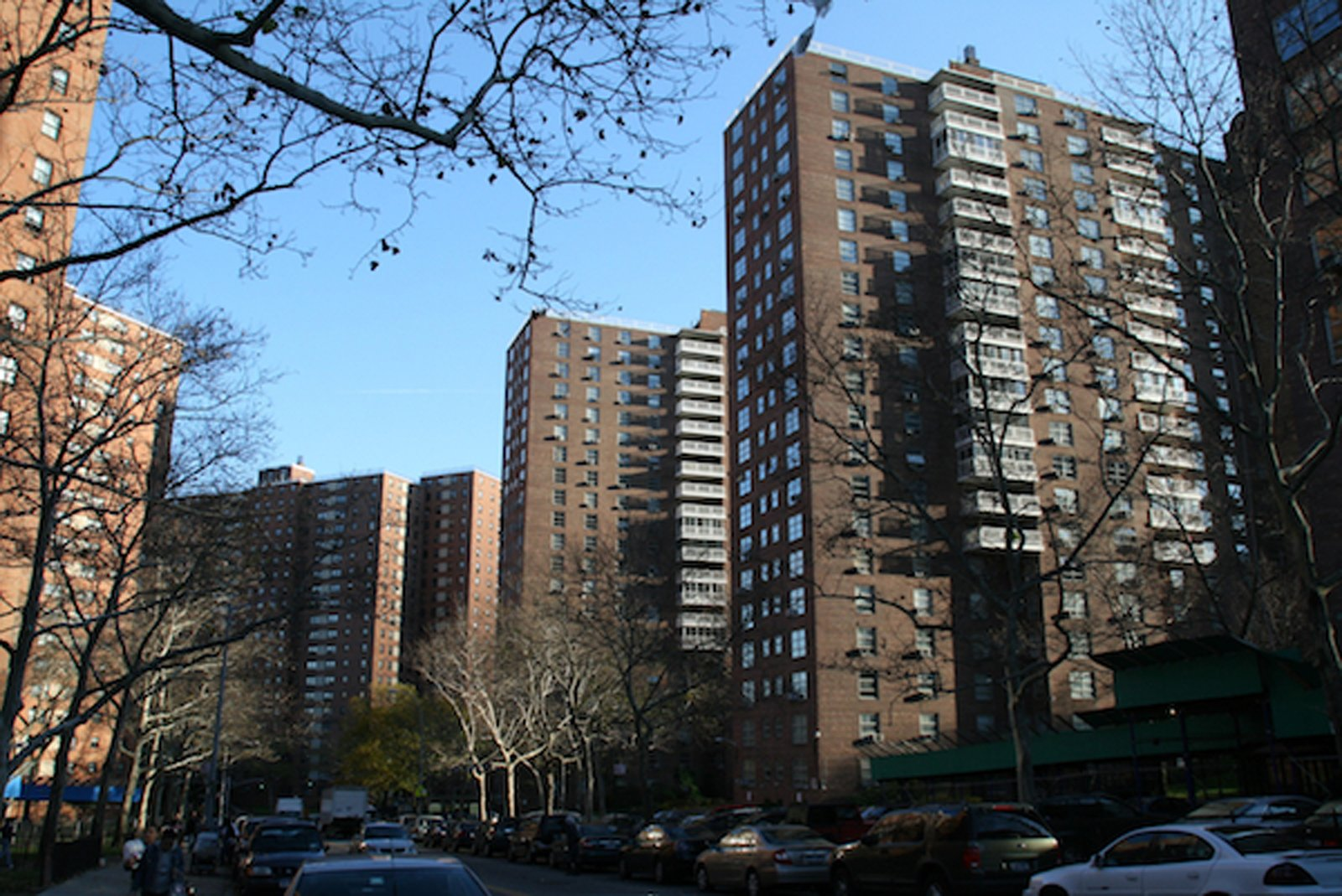 Morningside Gardens, Manhattan. Courtesy of Interboro Partners.  Photo 4 of 5 in Modernism 2.0: A Tower in the Park Even Jane Jacobs Could Love