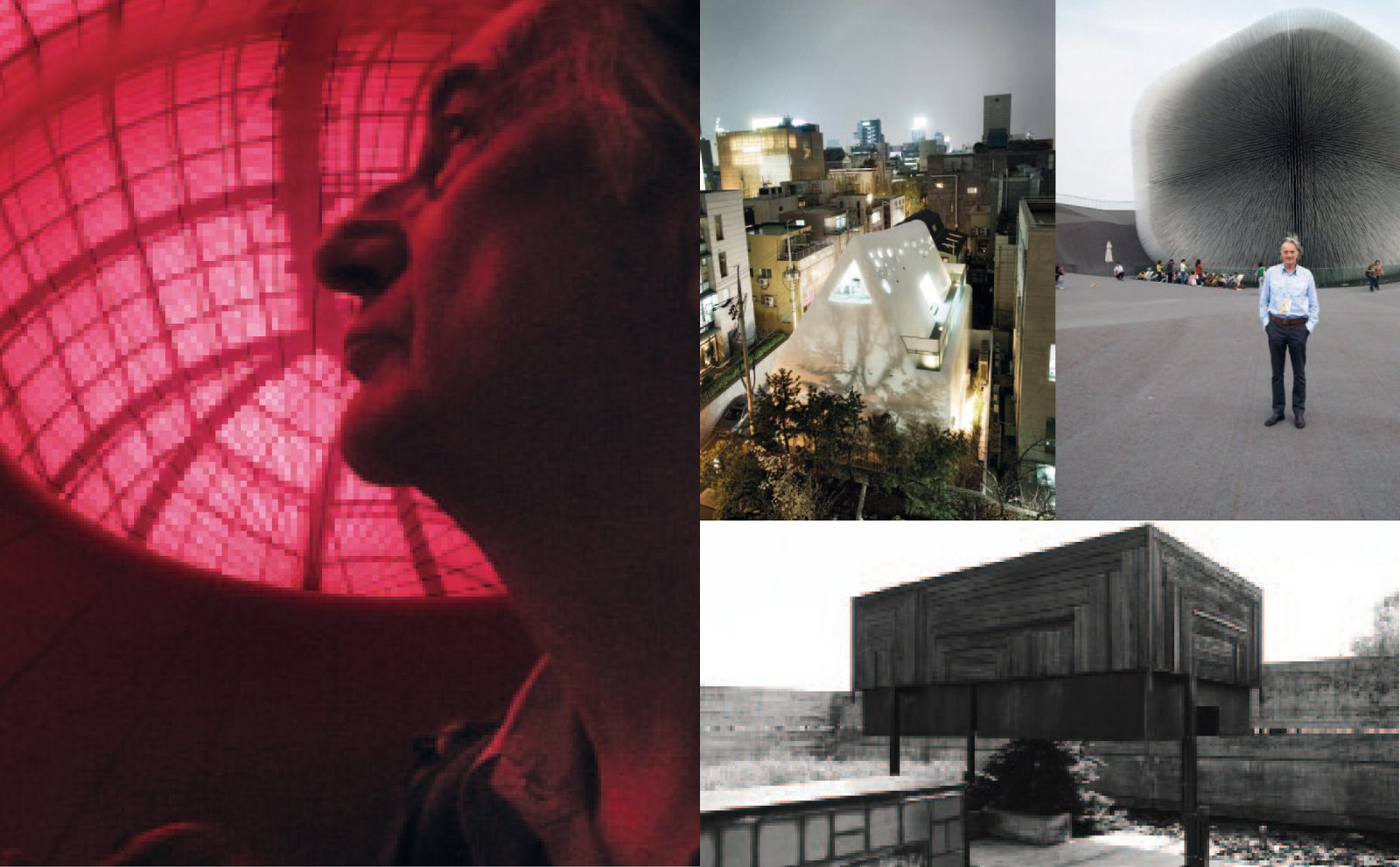 British style icon Paul Smith photographed with a few of his favorite buildings in the new book, Paul Smith A to Z.  Photo 3 of 3 in Paul Smith on Architecture