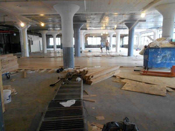 The WeCross office in progress.
