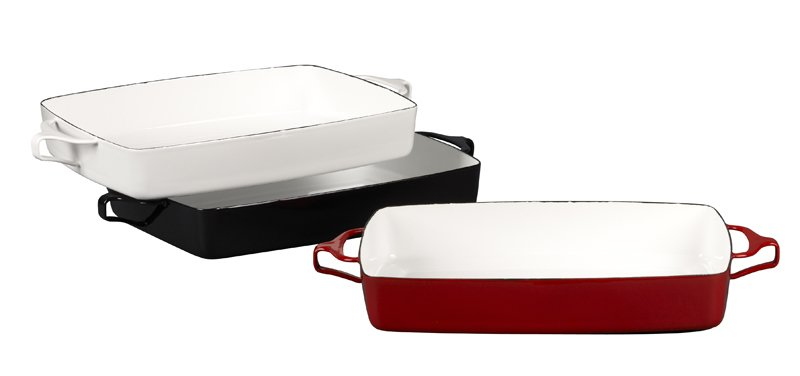 Kobenstyle large bakers in white, black and red, $99.95 each.  Photo 1 of 4 in Modern Cookware, Old and New