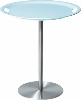 Op-la table with removable tray by Jasper Morrison for Alessi.