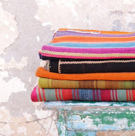 Blankets from Bolivia, as seen on ecprovisionco.com.  Photo 1 of 3 in Friday Finds 09.21.12