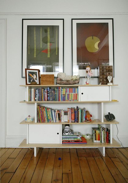 """This is the  Mini-Library in Baltic birch, it's really practical and the scale is good for kids.""  -Sophie Demenge"