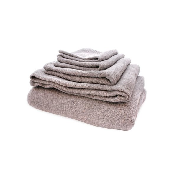 Made in Imabari, Japan, the 100-percent-cotton Lana towels are delicate and fine, but remarkably strong and super-absorbent. And because they're not bulky, they take up less space than garden variety towels.