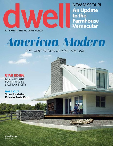 AMERICAN MODERN  Brilliant Design Across the USA  October 2012, Vol. 12 Issue 10.