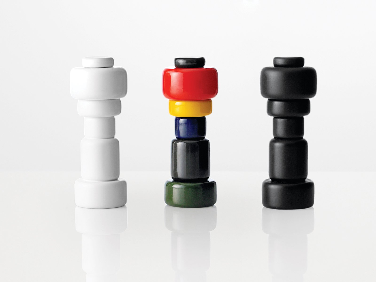 The museum recently acquired 11 Muuto products for its permanent collection, including the Plus salt-and-pepper grinders designed by Norway Says (above).  Photo 1 of 9 in Scandinavian Design Focus: Muuto