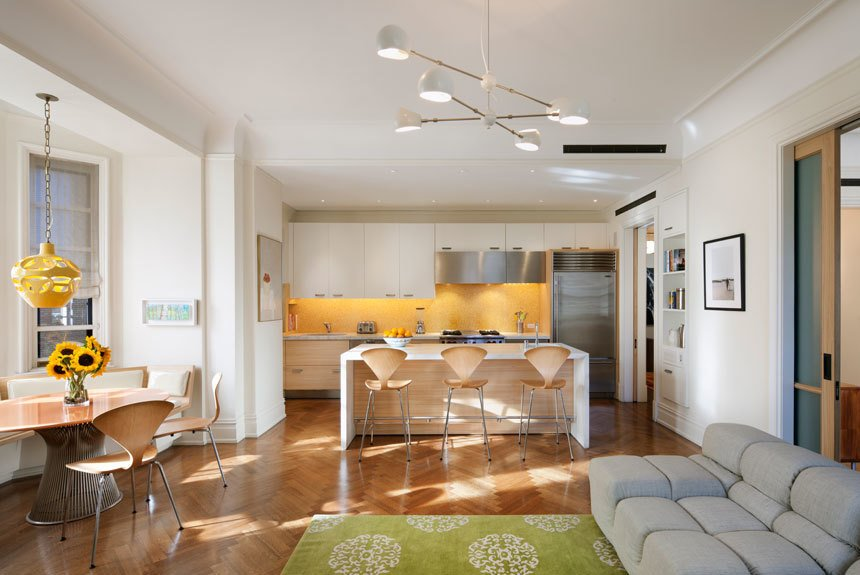 Ansonia Residence, New York, by Andrew Franz.  Photo 2 of 6 in 6 Design Experts Working in Flush