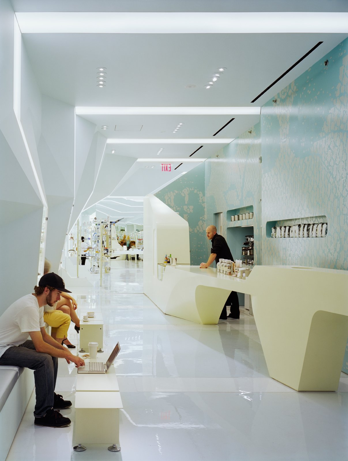 Alessi NYC Flagship Store by Tillotson Design Associates. Photo by Elizabeth Felicella.  Photo 3 of 6 in 6 Design Experts Working in Flush