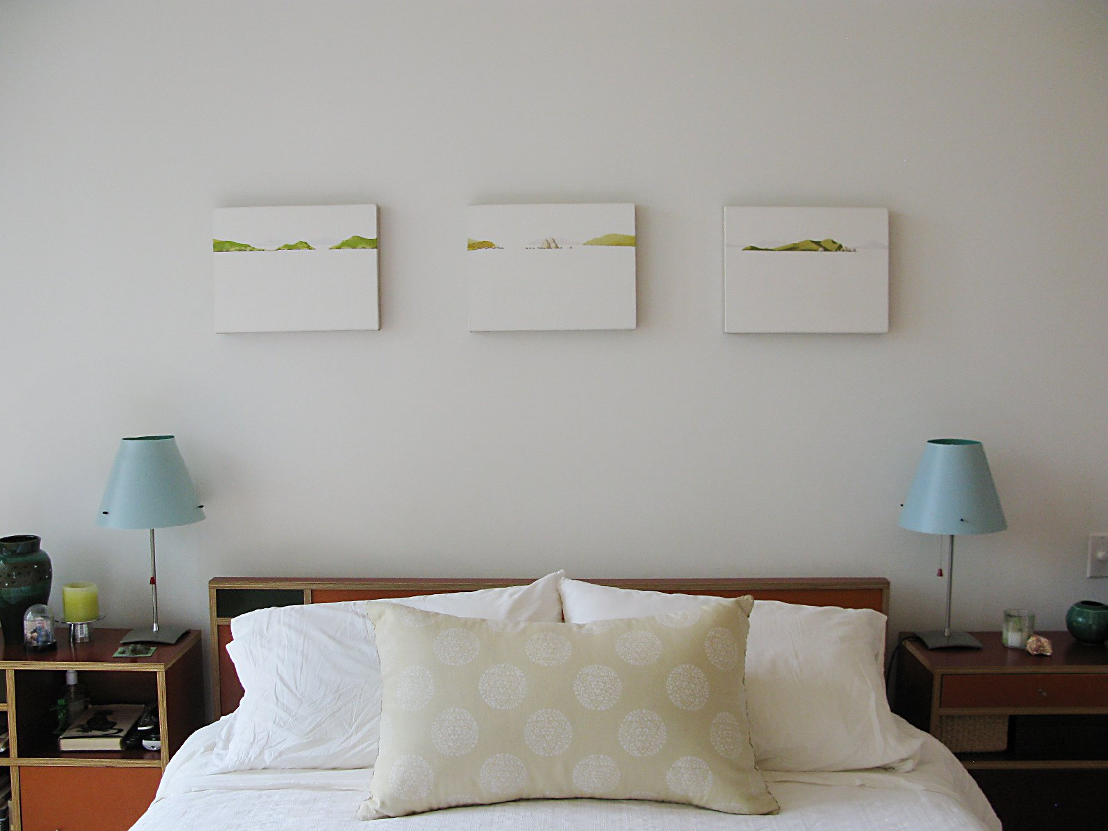 Decor in the master bedroom.  Photo 16 of 51 in City Modern Home Tours: Brooklyn