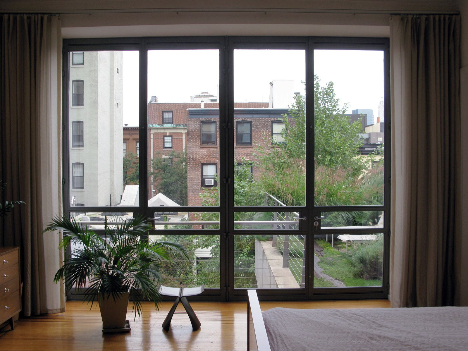 View from the master bedroom.  Photo 17 of 51 in City Modern Home Tours: Brooklyn