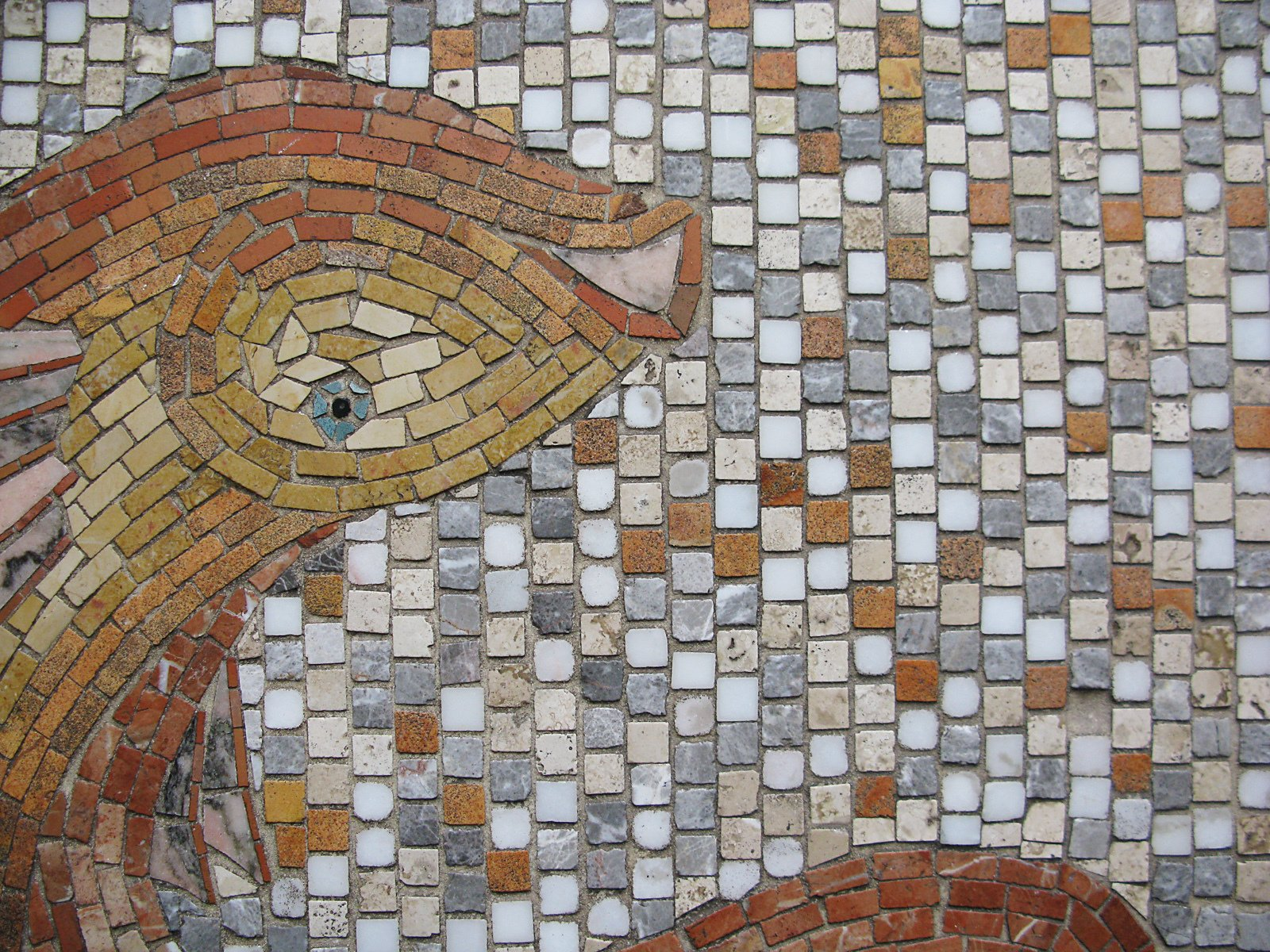 Mosaic tile details.  Photo 20 of 51 in City Modern Home Tours: Brooklyn