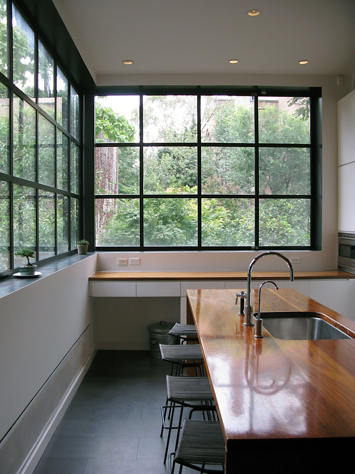The Warren Street Townhouse kitchen.  Photo 32 of 51 in City Modern Home Tours: Brooklyn