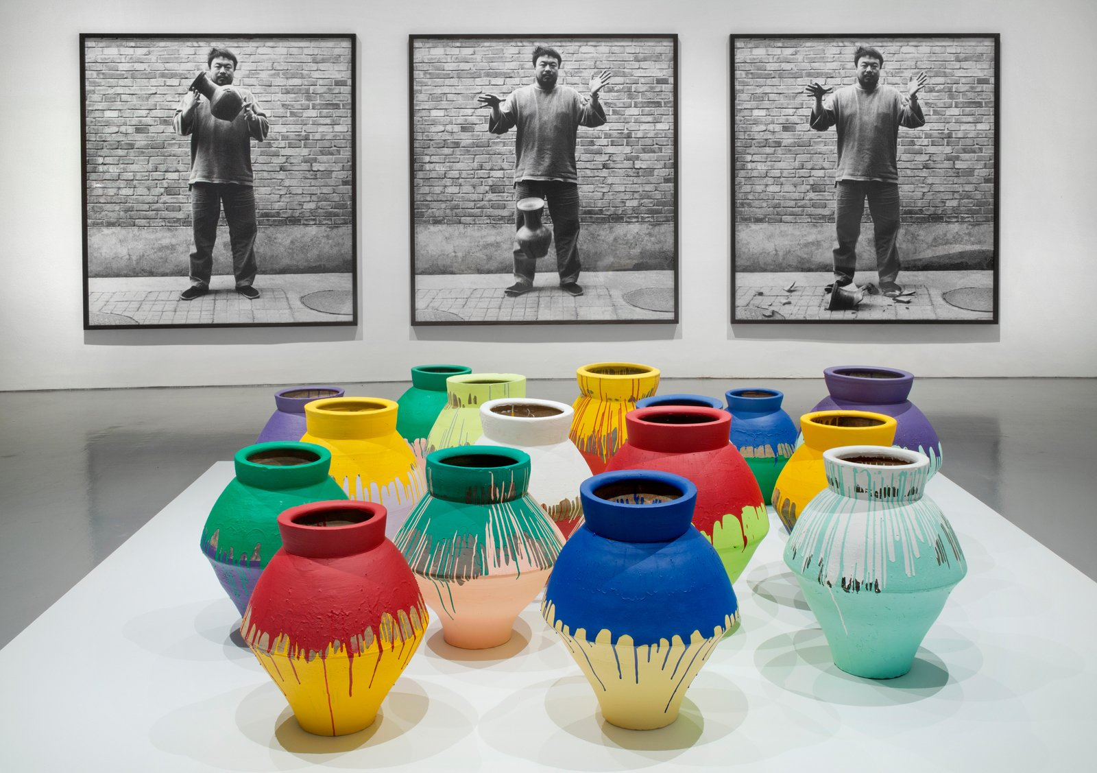 Installation view of Ai Weiwei: According to What? at the Hirshhorn Museum and Sculpture Garden, Washington D.C., 2012. Photo by Cathy Carver.  Photo 4 of 4 in Ai Weiwei's Washington Moment