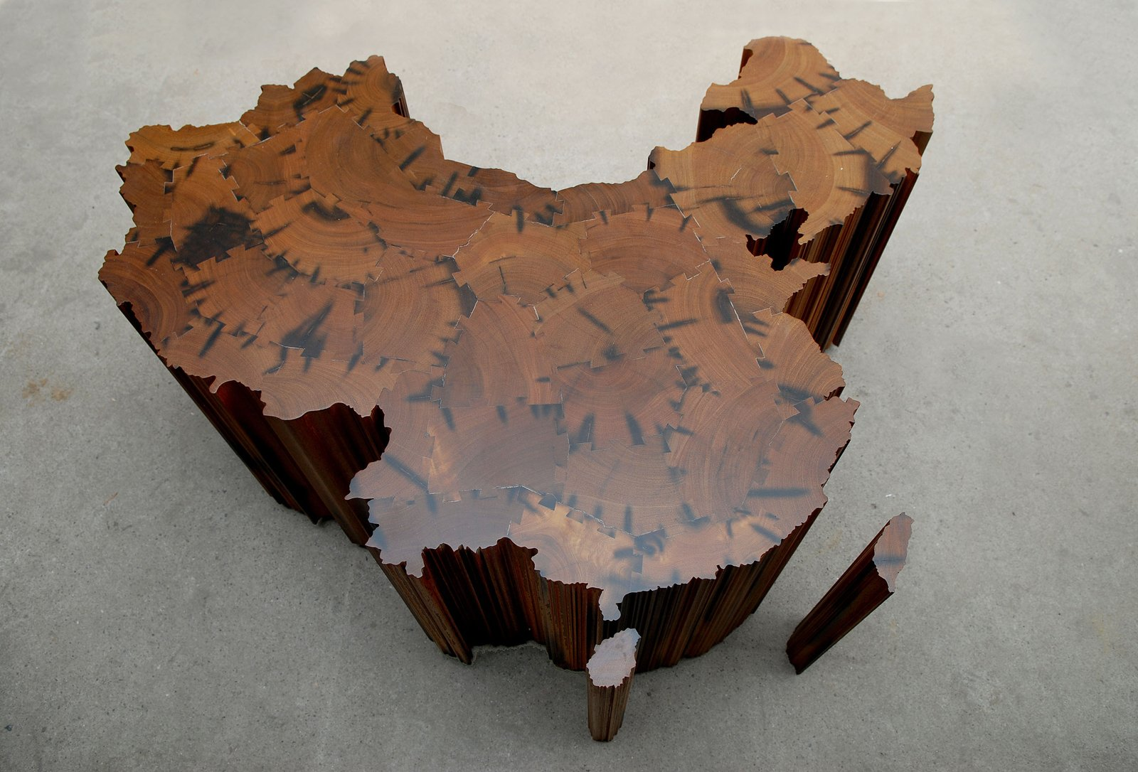 Ai Weiwei, Map of China, 2008. Image courtesy of the artist  Photo 3 of 4 in Ai Weiwei's Washington Moment