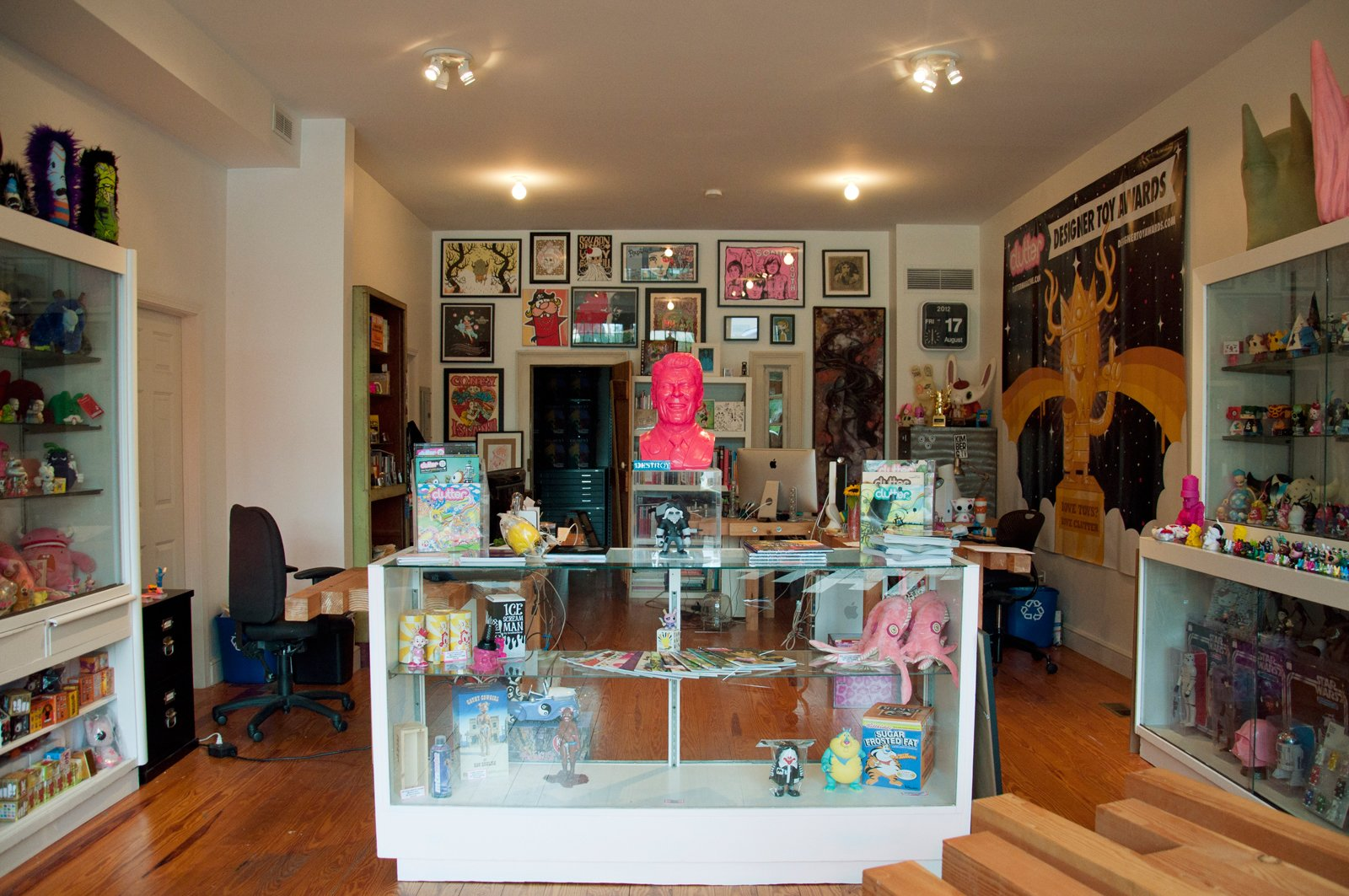 In addition to being a great place to pick up some of your favorite Kid Robot designs, Dream In Plastic's colorful storefront is also home to cult-zine Clutter, and a host of hard-to-find toys and memorabilia.  Photo 12 of 27 in Weekend Detour: Beacon, New York