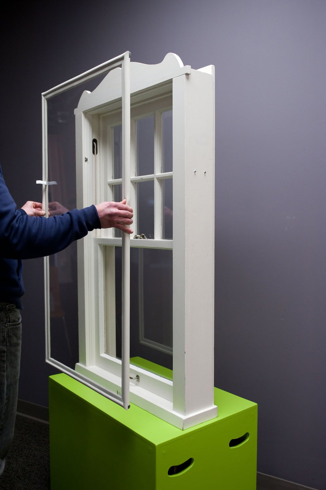 Indow Windows has a decidedly low-tech alternative for creating a more energy efficient home: custom window inserts that are just as efficient as double-pane windows but at one-fifth the cost, says founder Sam Pardue (a bit of trivia: he's also one of the Lensbaby cofounders). Essentially an acrylic panel wrapped in a compression tube, the window fits pops into the interior of an existing window, forming an air-tight seal.  What to See on the Last Day of Dwell on Design New York by Dwell from Highlights from Greenbuild 2012