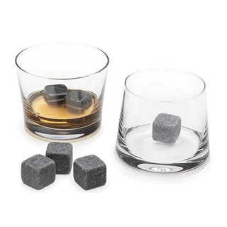 For the modern Don Draper on your list, pick up this whisky stone set by Teroforma. Made from soapstone in Vermont, these beverage cubes add a proper chill to your spirits, as soapstone's incredible natural properties allow for one cool dram without the dilution of ice. For maximum cooling, the stones are also available in a larger size. ($20-$22)