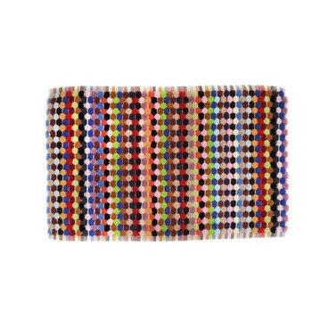 Old-world crafting techniques meet a modern sensibility in these 100-percent Turkish cotton towels by Michele Keeler. The highly absorbent, velvety-soft pile is designed to withstand years of use, and the cheerful color palette will add a bright note to bathrooms. Price: $18-89.
