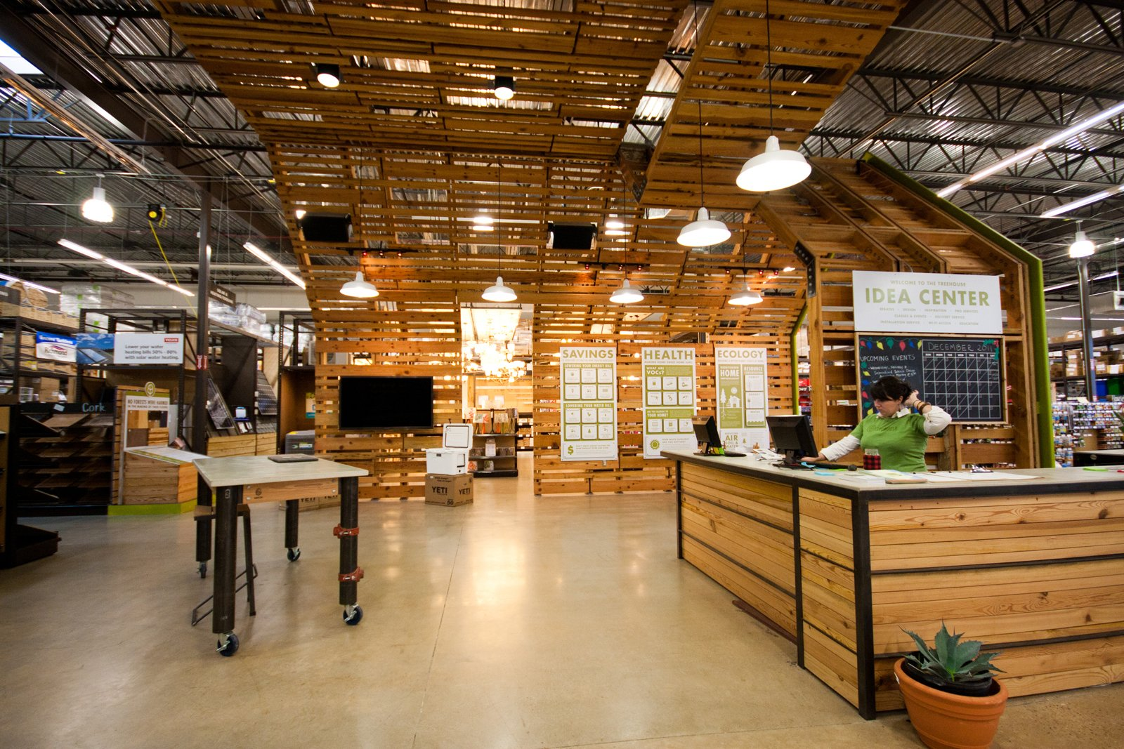 Another look at the Idea Center.  Photo 5 of 8 in A New Kind of Hardware Store: TreeHouse