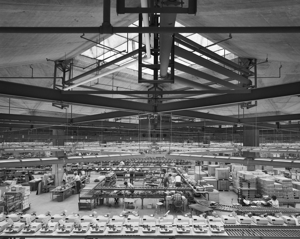 The Olivetti Underwood Factory in Harrisburg, PA by architect Louis Kahn, 1969.  Photo 4 of 11 in Life After COVID-19: How the Pandemic May Reshape the World as We Know It from Ezra Stoller's Photography: A Retrospective