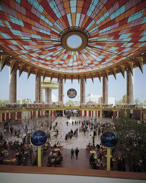 World's Fair, New York State Pavilion by architect Philip Johnson, 1964.