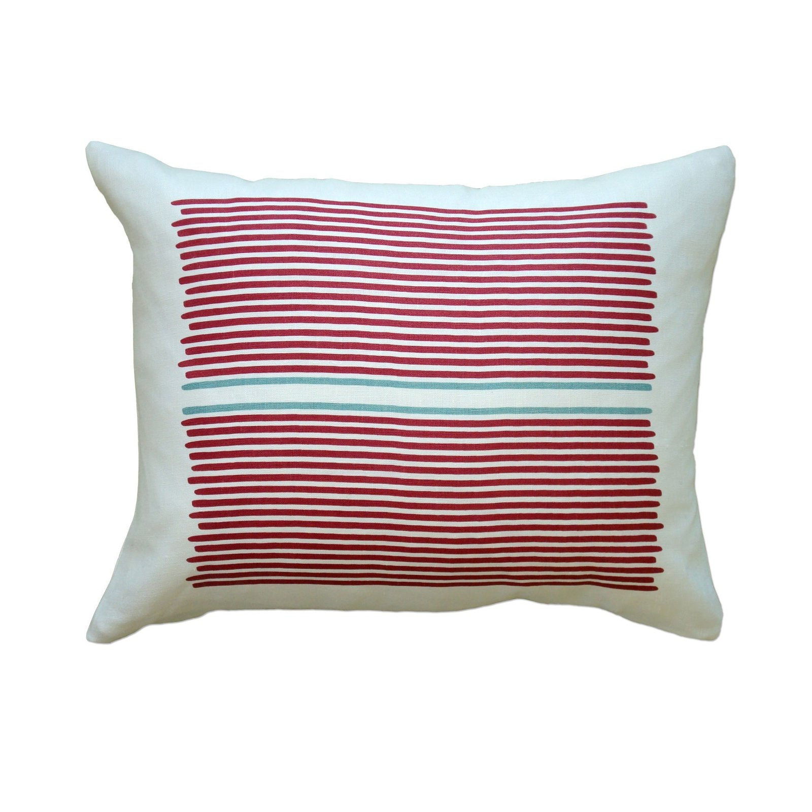 These pillows featuring an electric stripe design, are hand printed on linen, and are filled with feathers as well as regenerated fiber from recycled plastic bottles, making this the perfect gift for the eco-minded person on your list. ($42)  Dwell Holiday Gift Guide: For the One Who's Got It All by Dwell
