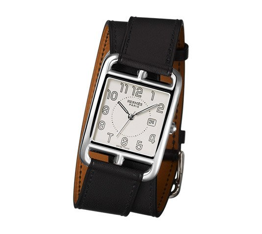 An investment piece, the Hermes Cape Cod watch features a double-wrapped band and a substantial, classic face. ($2,850)  Dwell Holiday Gift Guide: For the One Who's Got It All by Dwell
